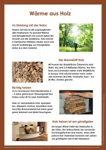 Wärme aus Holz